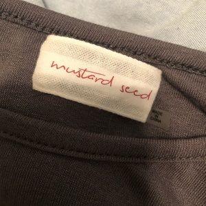 Mustard Seed Tops - NWOT Open Back Tank Top